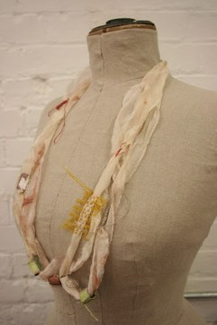 Textile & Metal Jewellery; a collaboration with Alys Power