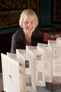 Jan With Hand Woven Book