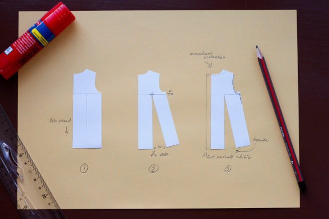 laste kleit, lõige, modelleerimine