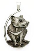 Tasmanian evil pendant
