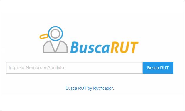 Buscar RUT con Rutificador de Nombres en Chile