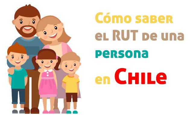 Cómo saber el RUT por nombre de una persona en Chile