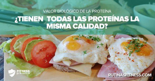 Valor biológico de la proteína