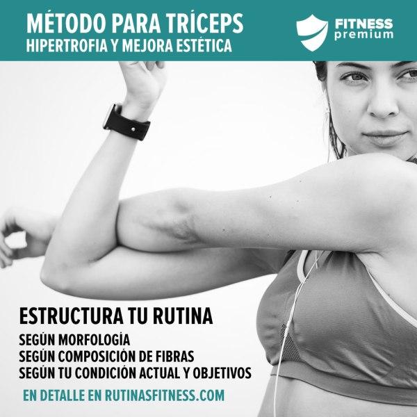 Hipertrofia para el tríceps