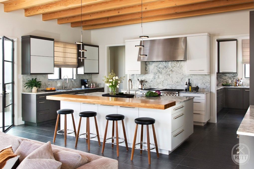 Modern Cherry Creek Rutt Handcrafted Cabinetry