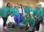 Valentina Cruz, Vicealcaldesa SDO encabeza operativo odontológico en Las Caobas
