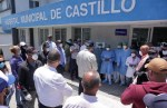 Luis Abinader visita obispo, pastores y movimiento social, entrega ayuda en barrios y hospitales de SFM, Pimentel, Castillo y Villa Riva