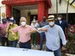 Diputado Luis Sánchez realiza encuentro de dirigentes con candidato a senador Antonio Taveras