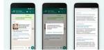 WhatsApp añade búsquedas en Internet para comprobar la información de los mensajes reenviados
