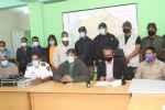 Rueda de prensa Comité Municipal de Emergencias SDO encabezado por el alcalde José Andujar