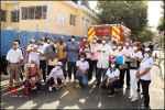 Área VII realiza operativo control Dengue y hace pruebas COVID- 19 en Enriquillo de Herrera