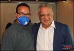 Juan Ysidro Grullón, director de INAVI realiza compartir navideño con la prensa de S.D.O