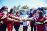 Mujeres conducirán vehículos y máquinas pesadas del Ayuntamiento Santo Domingo Este
