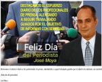 Mensaje de Jose Moya al periodista