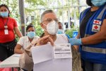 Alcalde SDE  Manuel Jiménez llama a la población a salir masivamente  a vacunarse.
