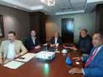 Alcalde Andújar realiza encuentro con empresarios españoles dedicados a procesamiento de basura