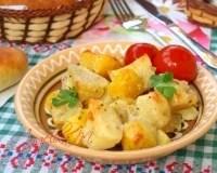 Вкусный запеченный картофель с ароматными травами - 9 ...