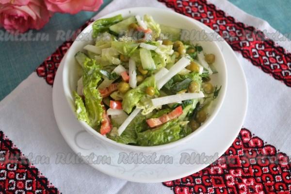 Салат quotКозликquot 12 пошаговых фото в рецепте