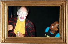 Solo simpel met clown Zapp