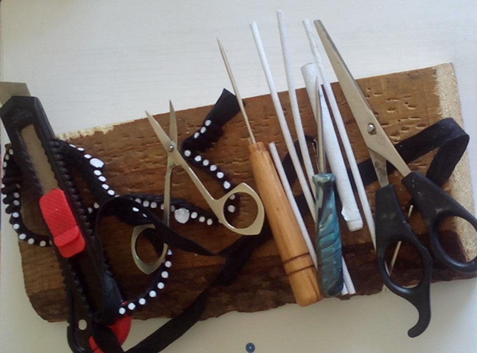 Необходимые «инструменты» для изготовления лестовки