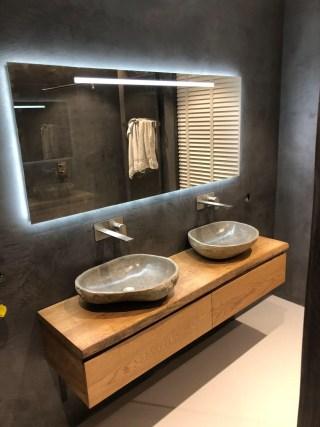Zwevende Plank Met Lades.Badkamer Toilet Meubels En Interieur Op Maat