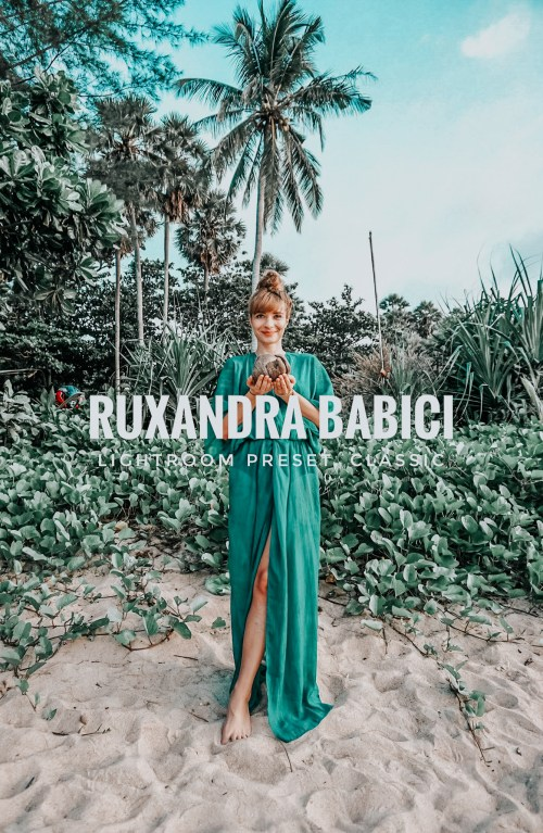 Adobe Lightroom Preset_Instagram Filter_Cohesive feed_Ruxandra Babici_Classic