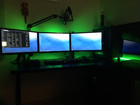 Overview of my Gaming Setup!