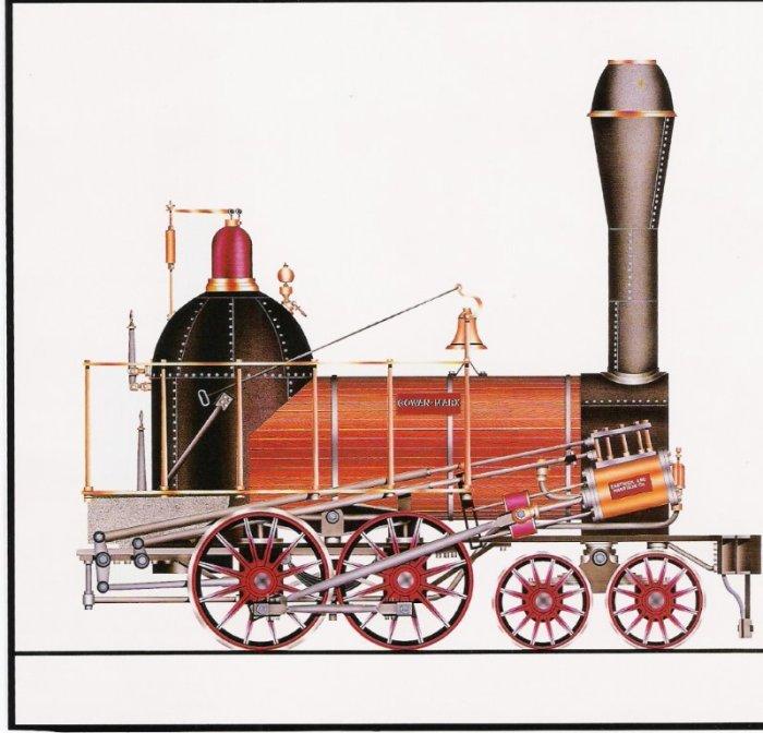 Baltimore & Susquehanna RR locomotive