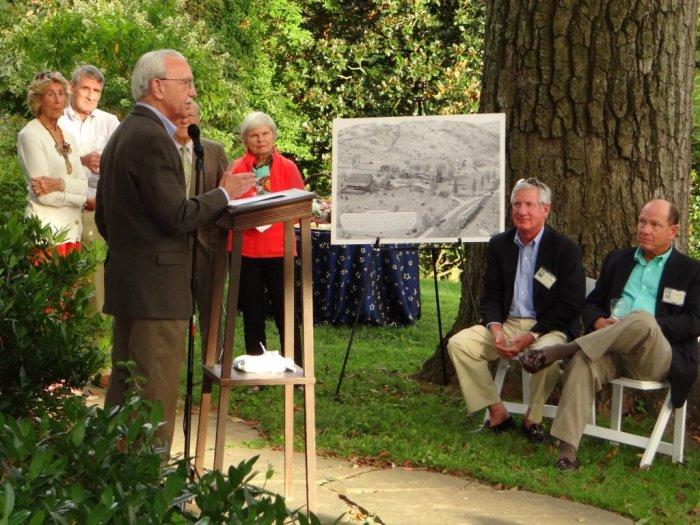 Guest speaker Rodney Little, Maryland Historic Preservation officer