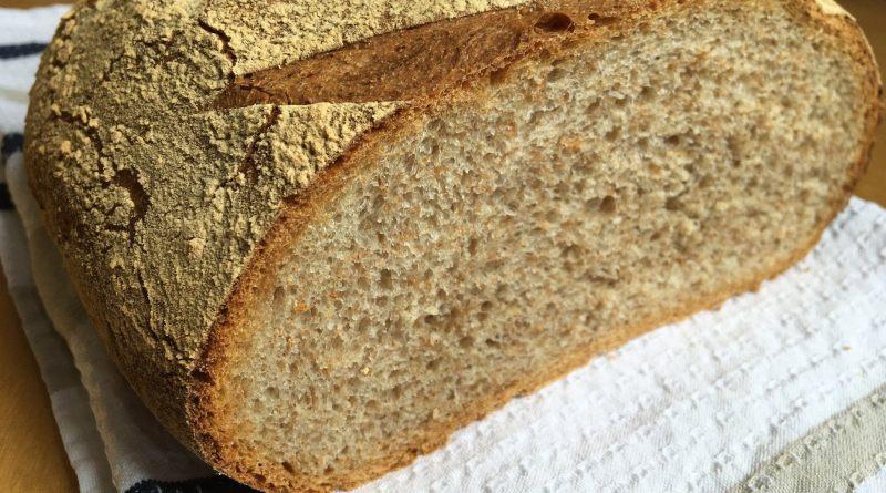 Marketten yarım ekmek aldım