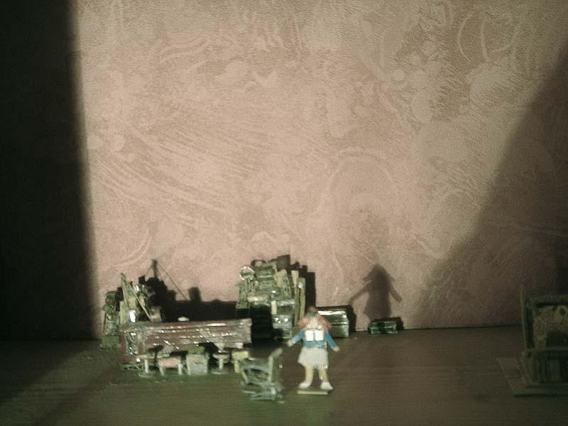 Maquette scénographie C'est Magnifique ! 05