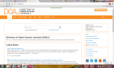 ONE OF THE OPEN ACCESS JOURNAL WEBSITES