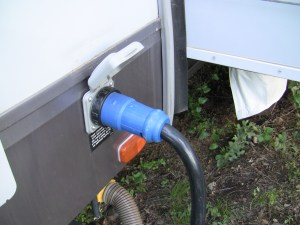 rv electrical system shore power connection