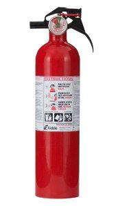 RV Fire Extinguisher Information Page