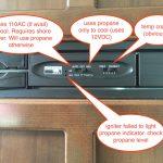 Jayco travel trailer refrigerator control