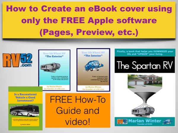 How to create an ebook cover on Mac without any graphical ...