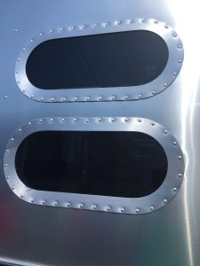 Airstream International Moon Windows Up Close