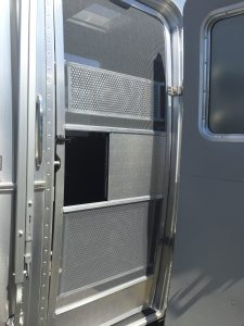Airstream International Entry Doors Screen Door View