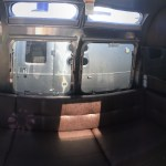 Airstream International Interior View Over Couch Windows