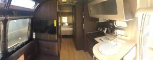 Airstream International Interior View Towards Bedroom