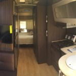Airstream International Interior View Towards Bedroom