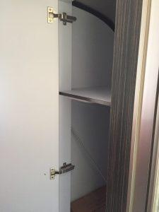 Airstream International Bathroom Storage