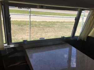 Airstream International Kitchen Table Window