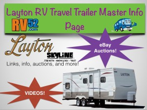 layton rv travel trailer master info page