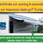 RV Financial : RV Insurance Claim for an Awning
