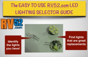 RV LED Light Selection Guide