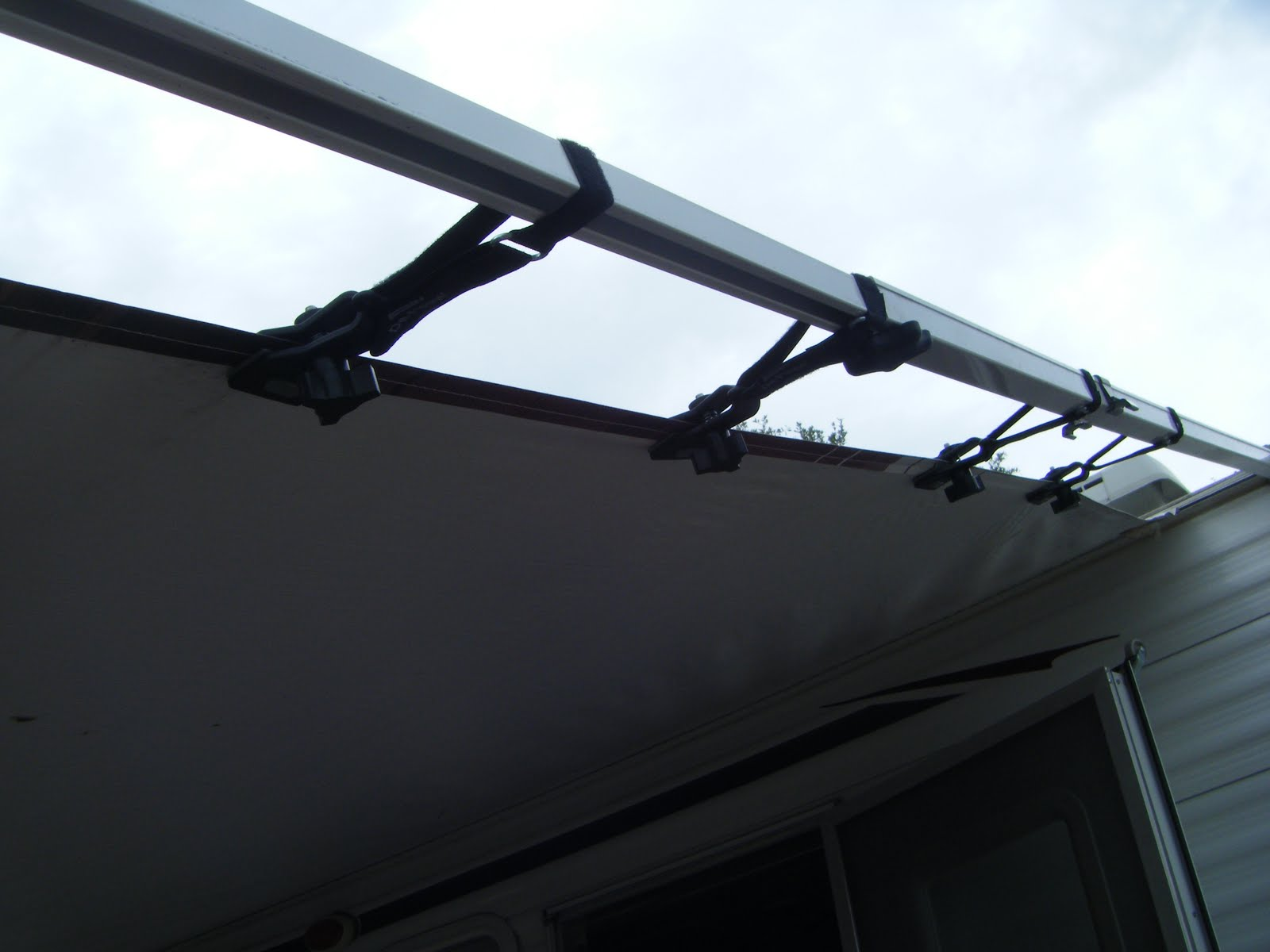 Rv Basics Secure The Awning Better