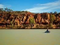 Kayaking in The Murray River