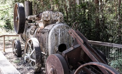 Old forestry machinery