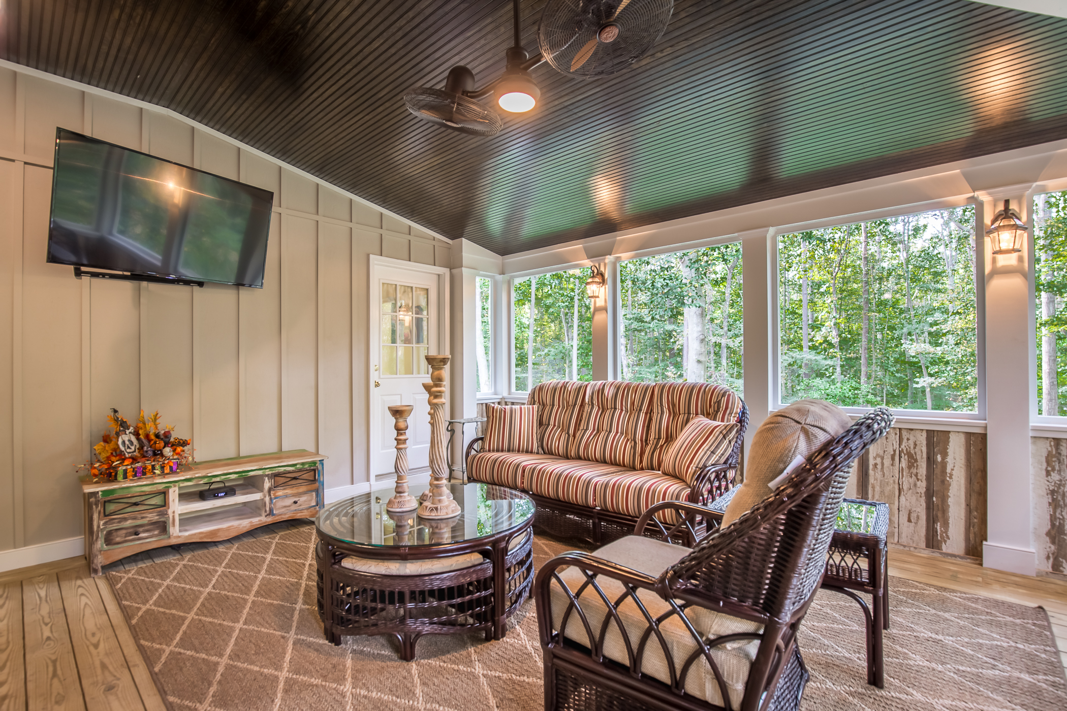 Country Style Screened Porch In Chesterfield Va Rva